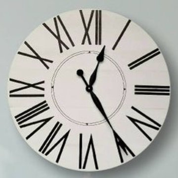 Taylor Farmhouse Wall Clock