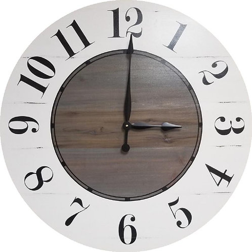 Cora Farmhouse Wall Clock