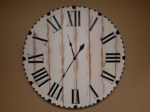 The Maggie Farmhouse Wall Clock