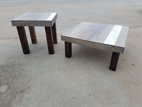 The Waco Farmhouse Coffee Table and End Table