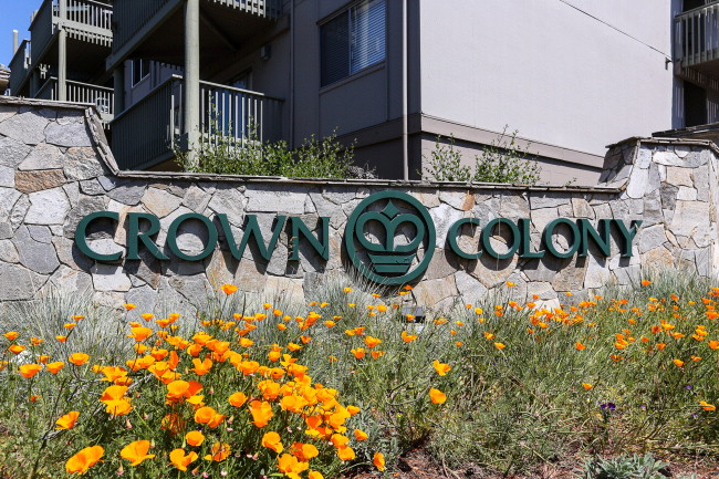 Crown Colony Entrance Sign 2