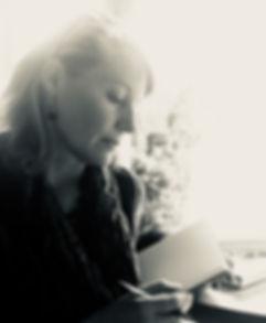 Susanne writing by Bea.jpg