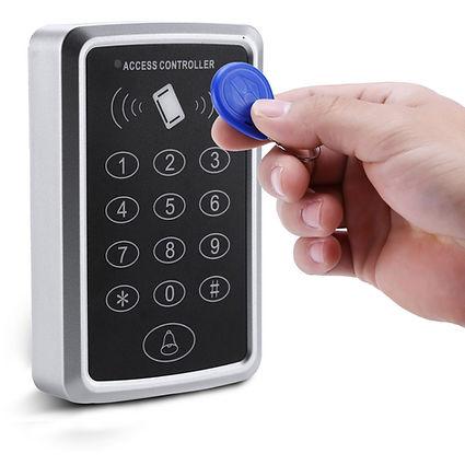 şifreli ve kartlı geçiş sistemleri