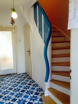Treppe Komplett aufgearbeitet