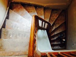 Alte Treppenstufen-aus alt mach Neu