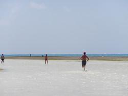 La plage de la Pointe Faula