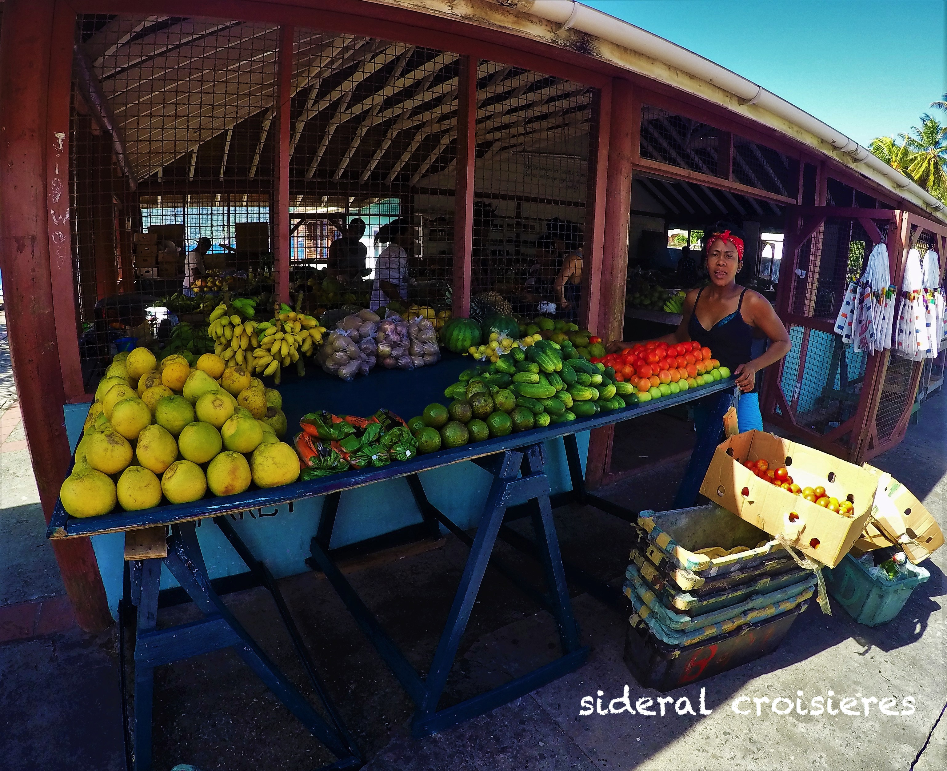 Bequia, Grenadines, marché, sideral