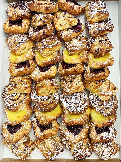 Freshly Baked Danishes