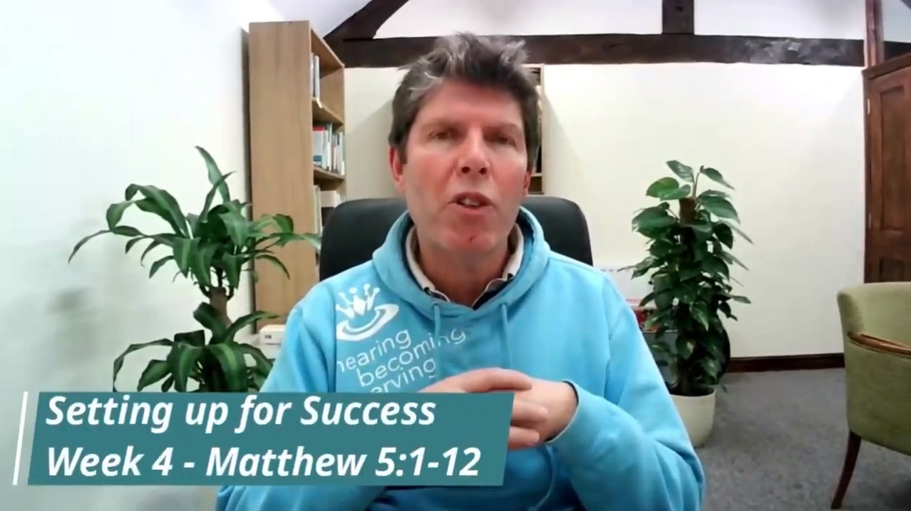 Setting up for success - part 4 - Sunday 7th March 2021