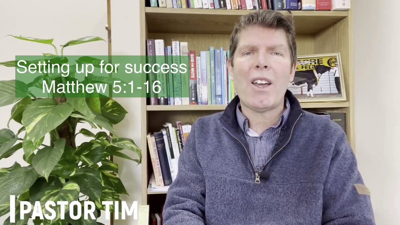 Setting up for success - part 1 - Sunday 14th February 2021