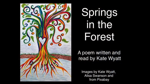 'Springs in the Forest' - poem by Kate - Sunday 20th June 2021