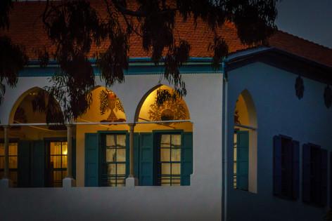 Vista del cuarto de Bahá'u'lláh