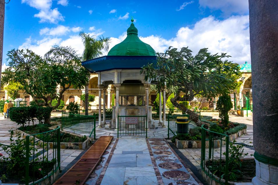 Moschea di el-Jazzar - Cortile
