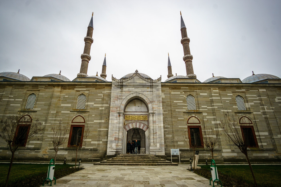 Selimiye Mosque - View from outside