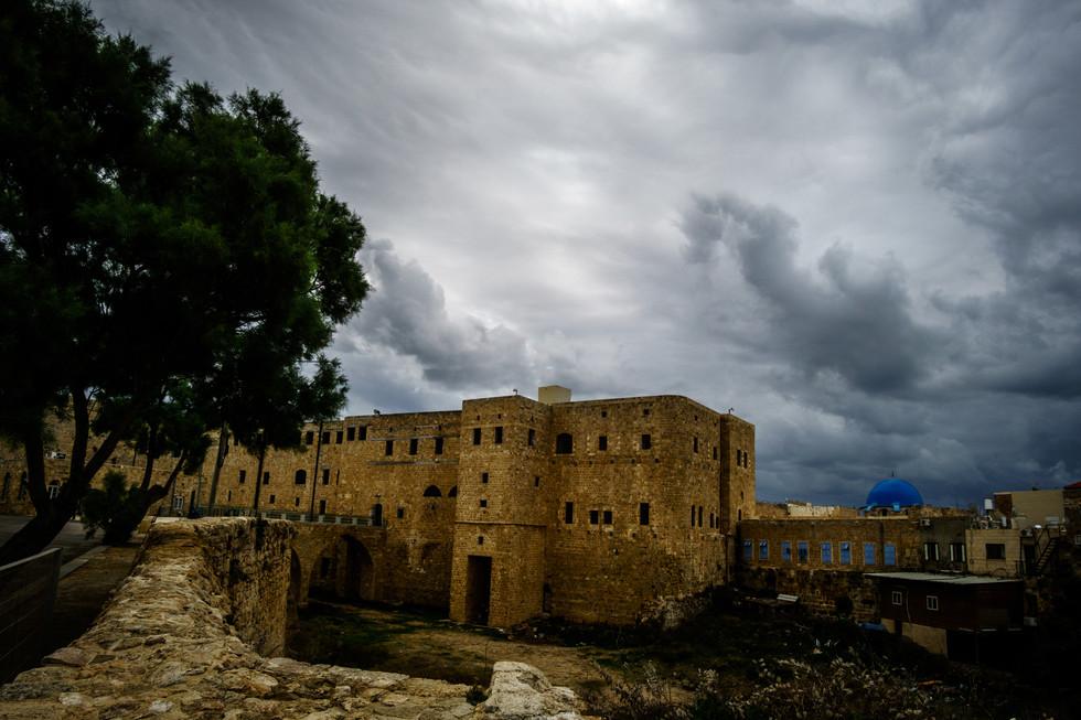 Vista della Cella di Baha'u'llah dalla distanza