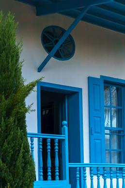 Entrada al cuarto donde solía quedarse Bahá'u'lláh