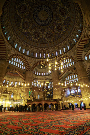 Moschea di Selimiye - Interni