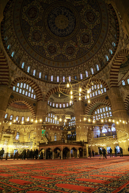 Mezquita de Selimiye - Interior