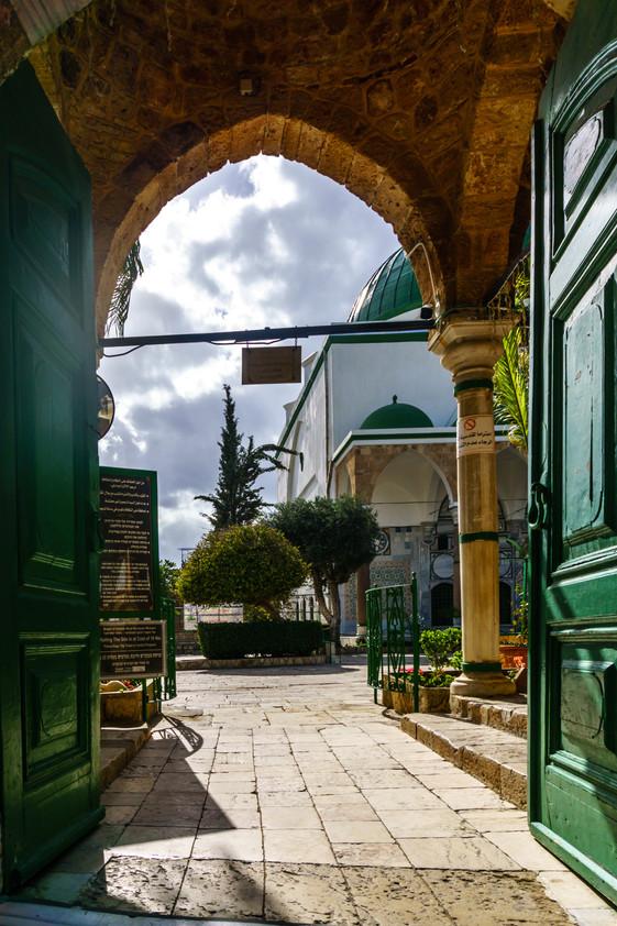 Moschea di el-Jazzar - Entrata esterna