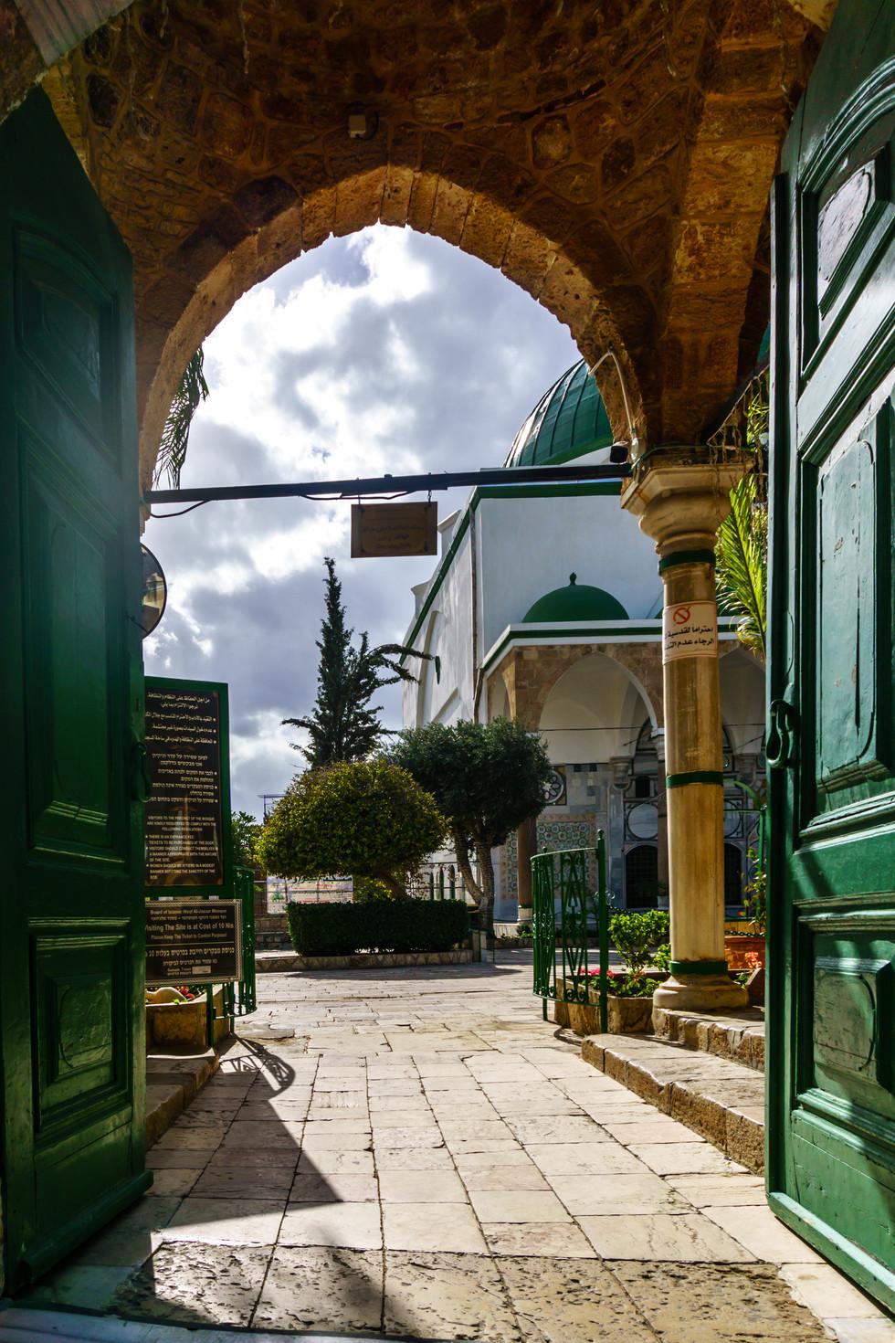 Mosque of el-Jazzar - Outer Entrance