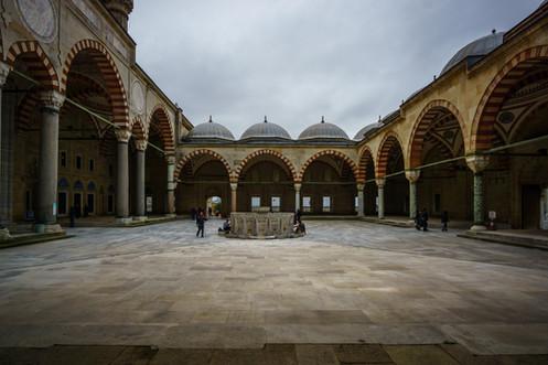 Mezquita de Selimiye - Patio Interno