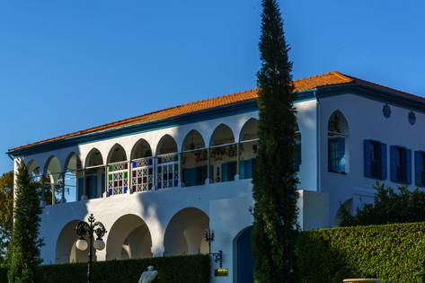 Entrada principal de la Mansion