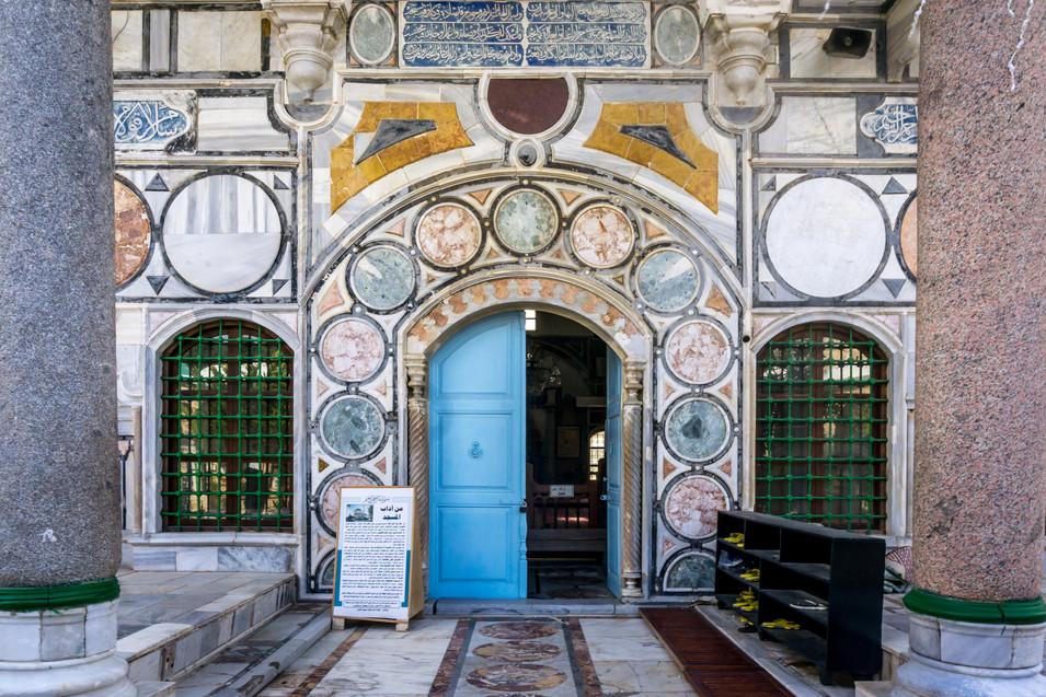 Moschea di el-Jazzar - Entrata interna