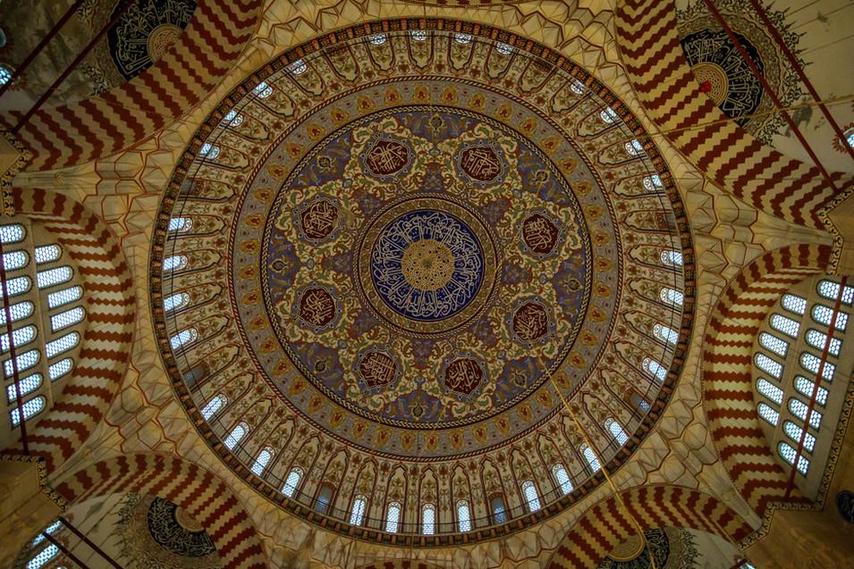 Mezquita de Selimiye - Cúpula