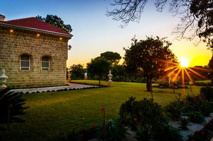 Tramonto e il Mausoleo