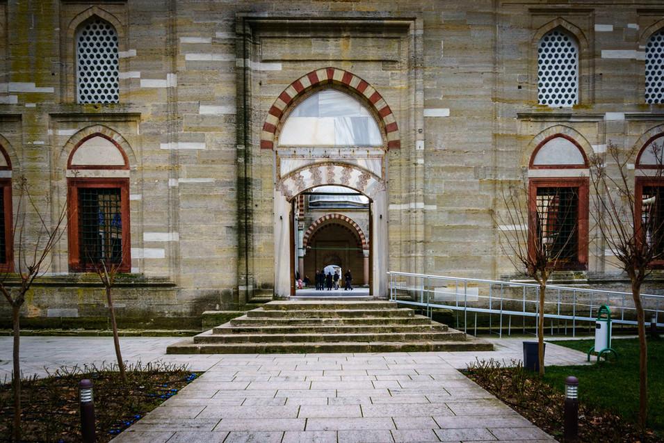 Mezquita de Selimiye - Entrada exterior
