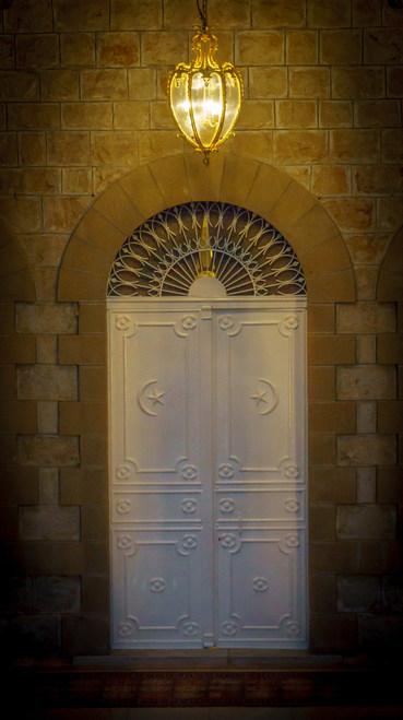 Ingresso al Mausoleo del Báb