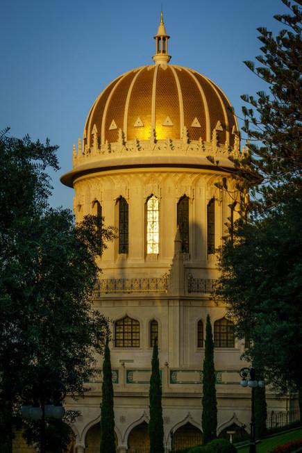 Vista laterale del Mausoleo