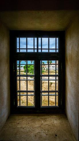 Vista de la cuidad prision desde la celda