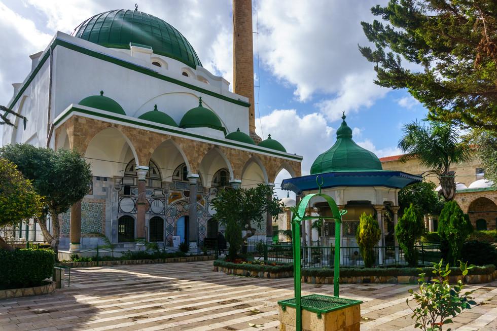 Mosque of el-Jazzar- Courtyard