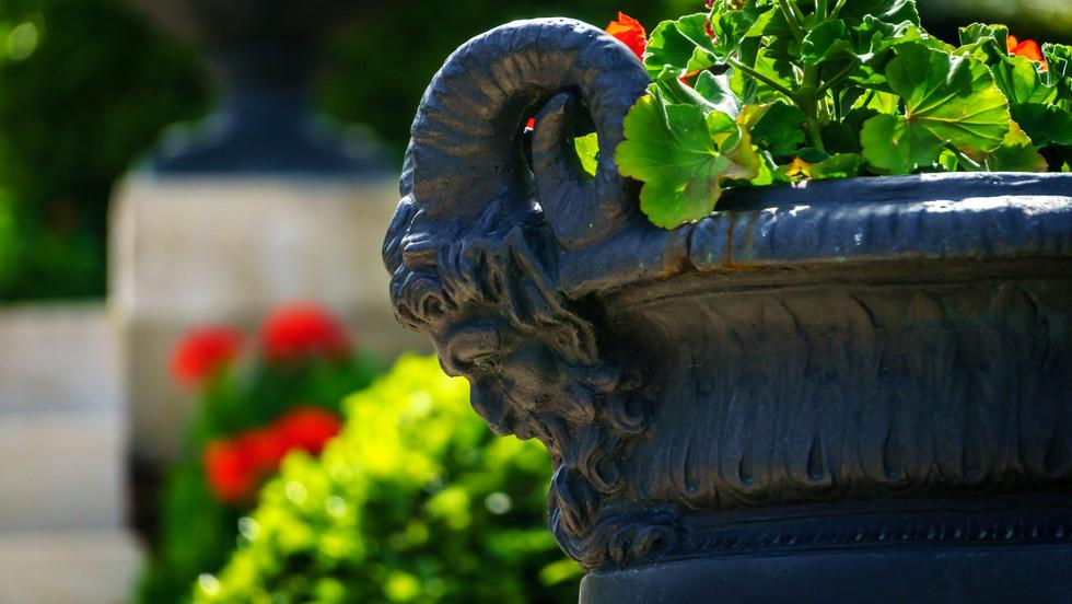 Ornamento en Jardines Monumentales