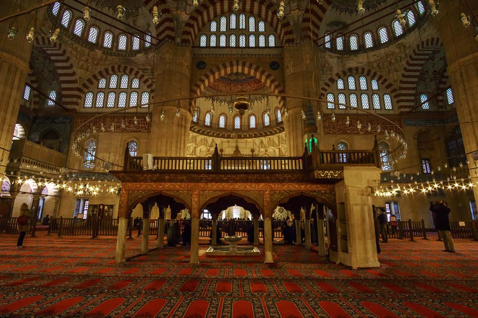 Selimiye Mosque - Interior