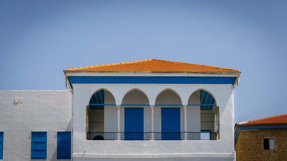 Balcone della stanza di Baha'u'llah dall'esterno