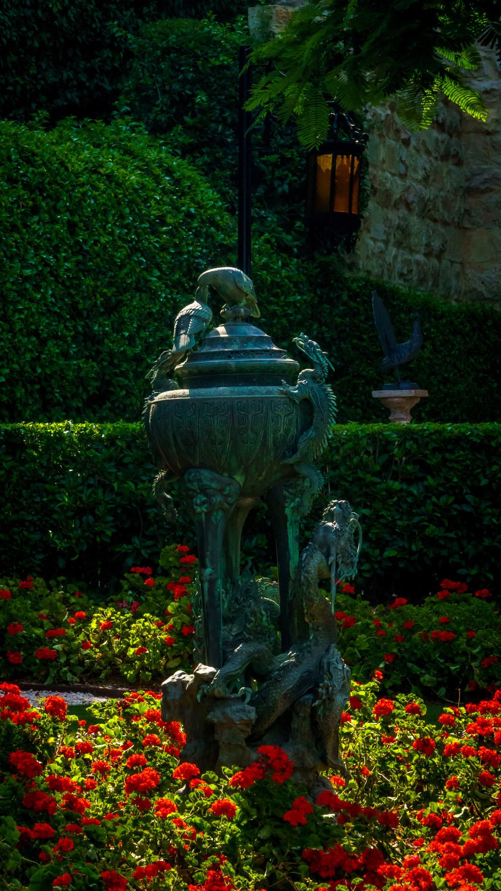 Ornamento en jardines