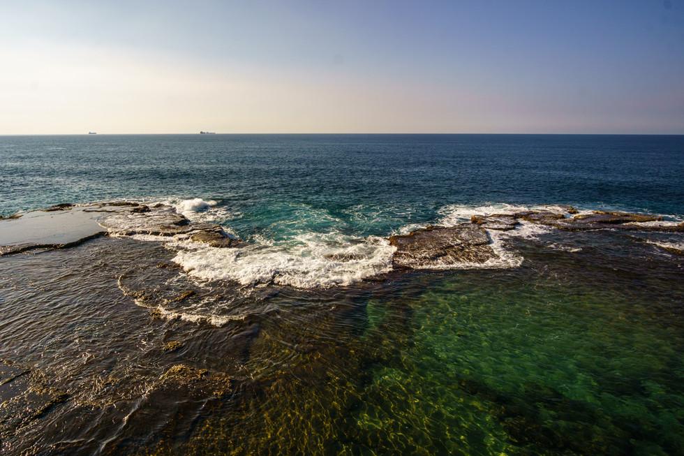Mar Mediterraneo desde la Ciudad Prisión