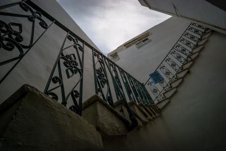 Scale verso il secondo piano