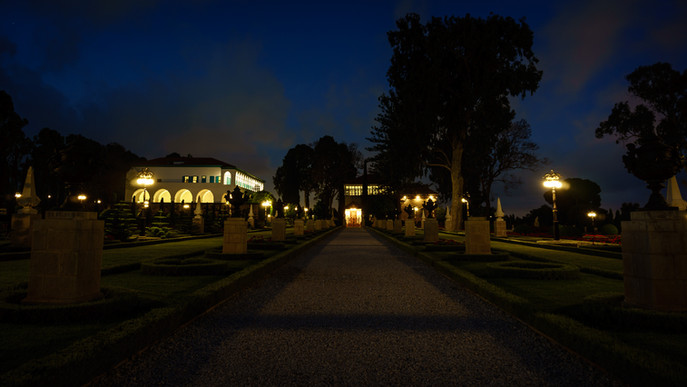 Mausoleo di Bahá'u'lláh e la Magione
