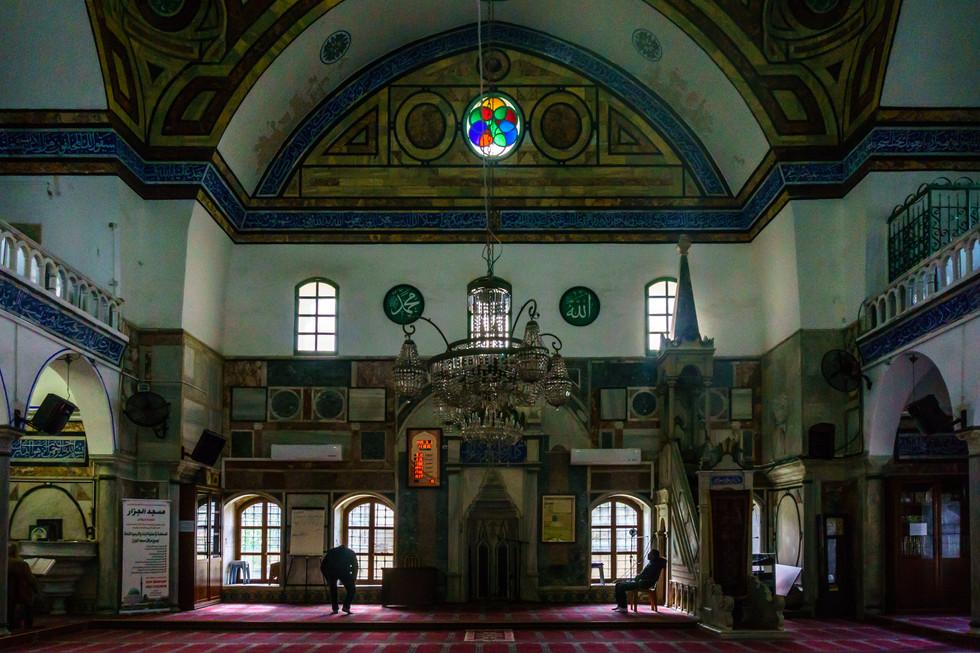 Mosque of el-Jazzar - Interior