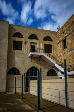 Entrada a la celda de la prision