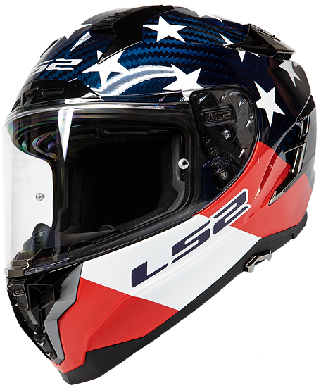 AMERICARBON - GLOSS RED/WHITE/BLUE - Challenger Carbon