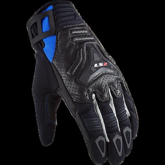 ALL TERRAIN - BLACK BLUE - Men's Touring Gloves
