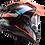 Thumbnail: FRONTIER - GLOSS BLACK/BLUE - Explorer Carbon
