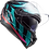Thumbnail: FLAMES - GLOSS BLUE CARBON/BLUE/RED - Challenger Carbon
