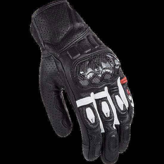 SPARK - BLACK WHITE - Men's Sport Gloves