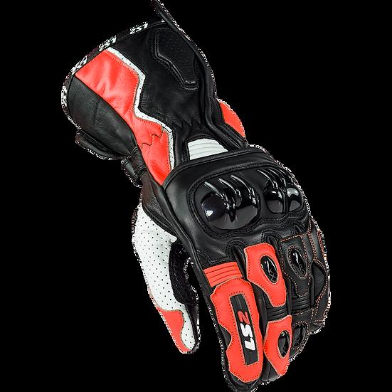 SWIFT - BLACK FLUO RED - Men's Sport Gloves