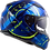 Thumbnail: TACHO - GLOSS BLUE/HI VIZ YELLOW - Stream